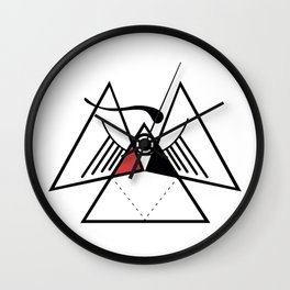 Obvious Wall Clock
