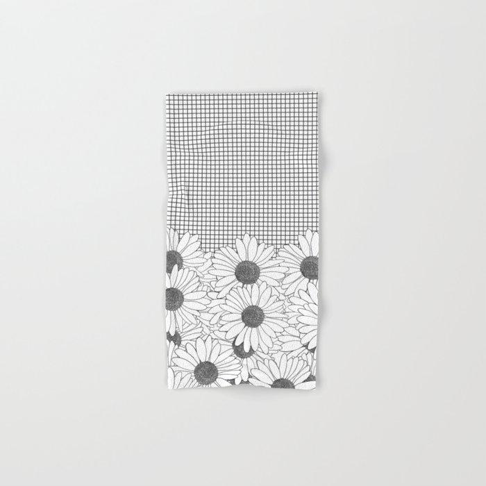 Daisy Grid Hand & Bath Towel
