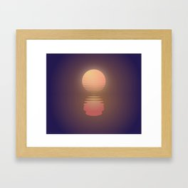 The Suns of Time Framed Art Print