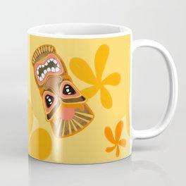 Retro Summer Tiki Room Coffee Mug