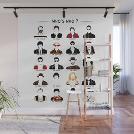 Who's who? Wall Mural