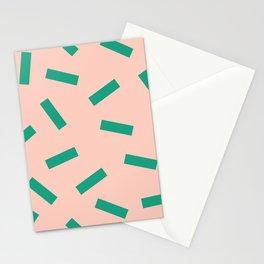 Spring Macaroni Pattern Stationery Cards