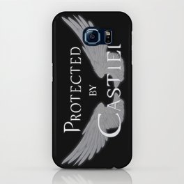 Protected by Castiel White Wings iPhone Case