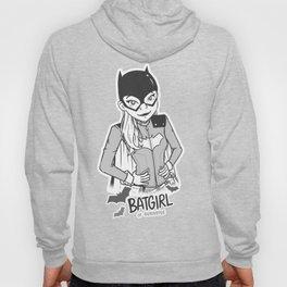 Batgirl (Black and White) Hoody