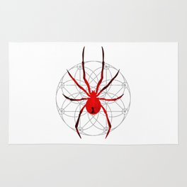 The Red Widow Rug