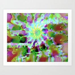 Abstract Dreamer Art Print