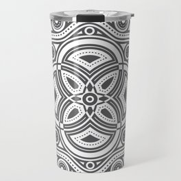 The All Seeing Eye Mandala Travel Mug