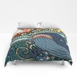 'Jonah and the Whale' Comforters
