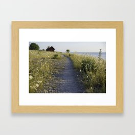 Fields of Neptune #2 Framed Art Print