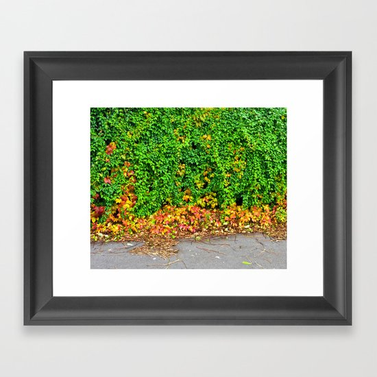 Autumm Framed Art Print