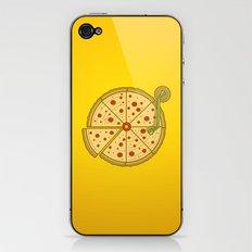 Pizza Vinyl iPhone & iPod Skin
