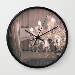 Crystal Light Wall Clock