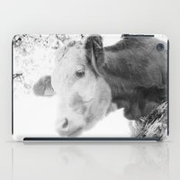 cow iPad Cases featuring COW by Julia Aufschnaiter