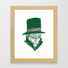 A Christmas Carol: Scrooge Framed Art Print