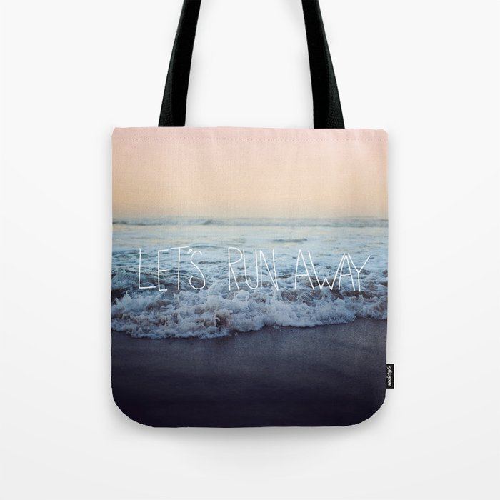 Let's Run Away x Arcadia Beach Tote Bag
