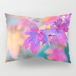 Elegant Japanese Maple Tree Leaves In Autumn Pillow Sham