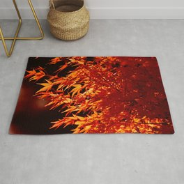 AUTUMN LEAVES - RED MAPLE Rug