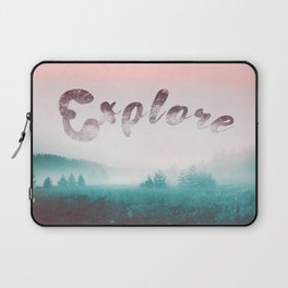 Explore the Wild. Wanderlust Laptop Sleeve
