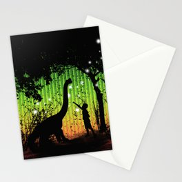 Off world adventure Stationery Cards