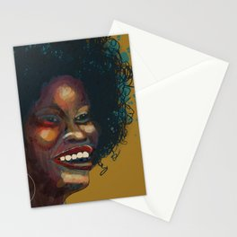 Glorious Smile, Glorious Hair, Glorious Glow: African Woman Stationery Cards