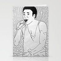 childish gambino Stationery Cards featuring Childish by Pink Boi