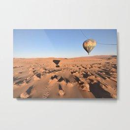 Ballooning in the Namib Metal Print