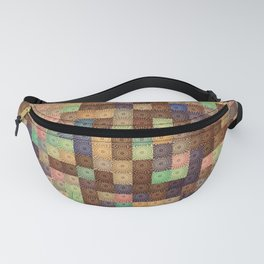Colorful cubes Fanny Pack