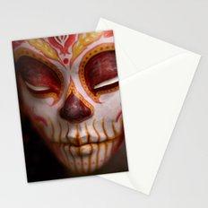Crimson Harvest Muertita Detail Stationery Cards