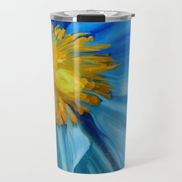 Poppy Blues II Travel Mug