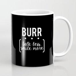 burr // black Coffee Mug