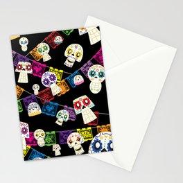 Skulls y Papel Picado Stationery Cards