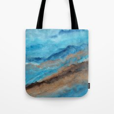 Watercolor abstract landscape 20 Tote Bag