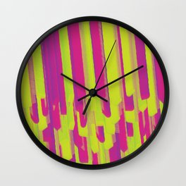 Lollipop Layering Wall Clock