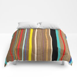 Abstract Art Colorful  Pattern Comforters