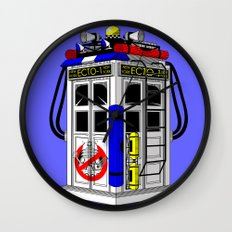 Tardis-1 Wall Clock