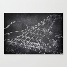 Stratocaster Canvas Print