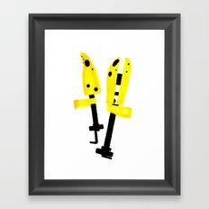 Day 3 - Shoe Trees Framed Art Print
