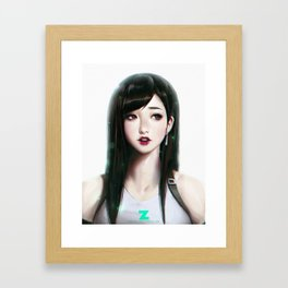 Tifa Lockhart - Portrait Framed Art Print