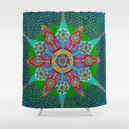 Psyche mandala Shower Curtain