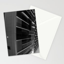 Skyscraper Sidewinder Black and White Stationery Cards