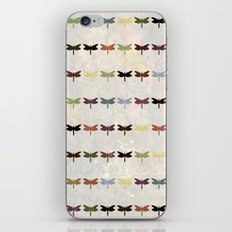 Dragonfly pattern v3 iPhone & iPod Skin