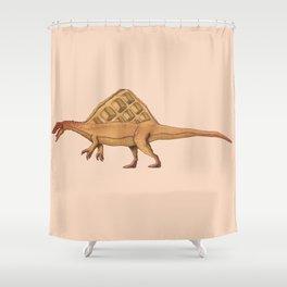 Wafflesaurus Shower Curtain