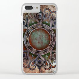 Mandala - Zombie Clear iPhone Case