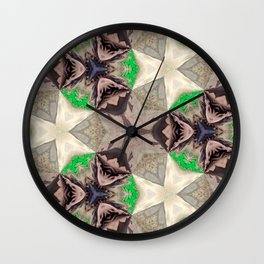 Mix of Mutated Patterns Var. 7 Wall Clock