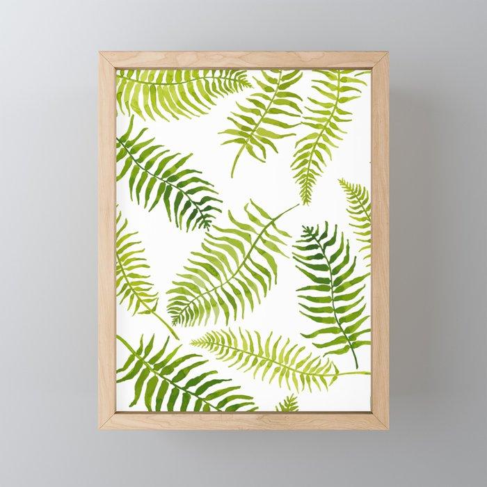 Fern-iliscious Framed Mini Art Print