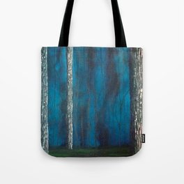 Inside the dark forest Tote Bag