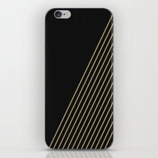 Tan & Black Stripes  iPhone & iPod Skin