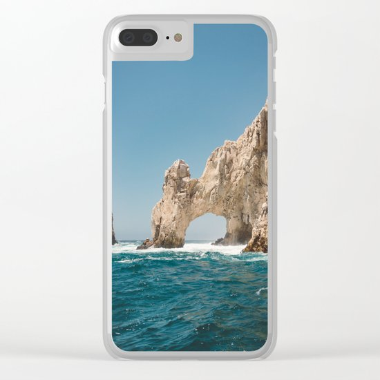 Arch of Cabo San Lucas IV Clear iPhone Case