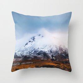 Mount Errigal - Ireland(RR 260) Throw Pillow