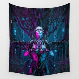 The Quantum Zen Queen Wall Tapestry